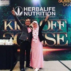 Menjadi pembicara di Herbalife Semarang