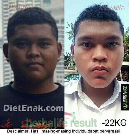 adit_herbalife_turun 22 kg