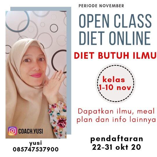 kelas diet online