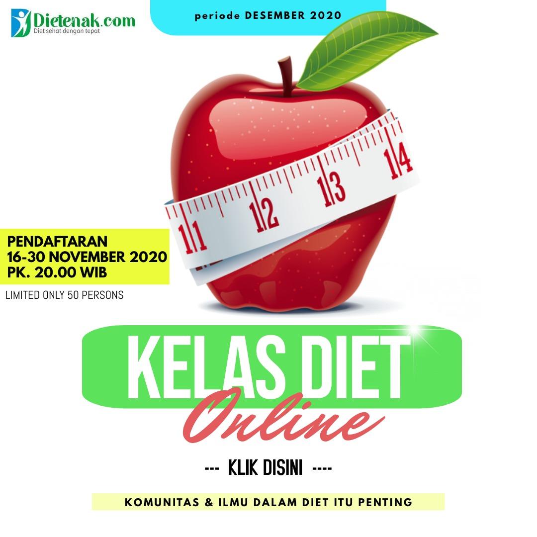 kelas diet online desember
