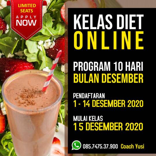 kelas diet online gratis